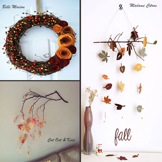 Autumn DIY ideas