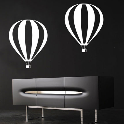 Air Balloon Wall Decal