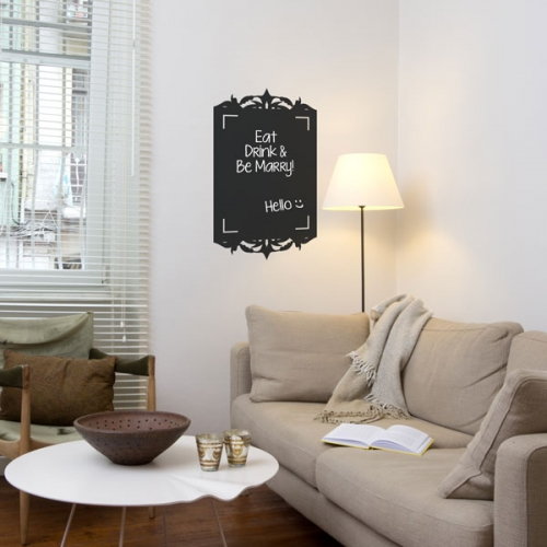 Reusable Chalkboard Frame Wall Decal