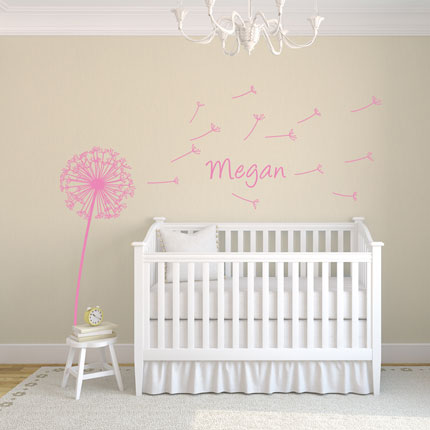 ... Dandelion Wall Decal Image 1 ... Part 27