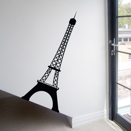 Eiffel Tower Wall Decal Part 58