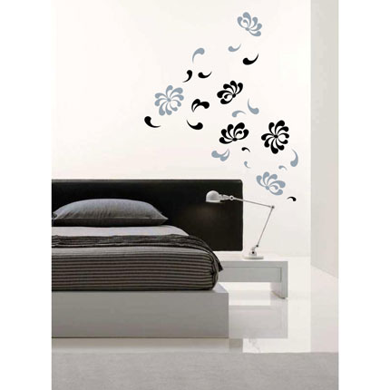 Floral Falls Wall Decal
