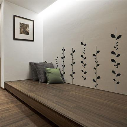 Growing Leaves Wall Decal