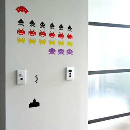 Invaders Wall Decal