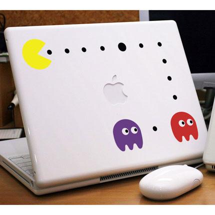 Pacman Laptop Sticker