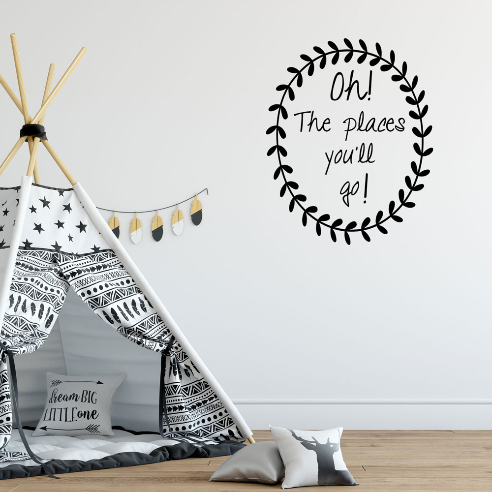 Oh! The Places You'll Go Wall Decal
