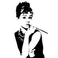 Audrey Wall Decal Image 1