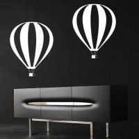 Air Balloon Wall Decal Image 0