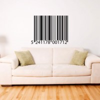 Barcode Wall Decal Image 0