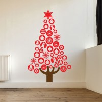 Baubles Christmas Tree Image 1