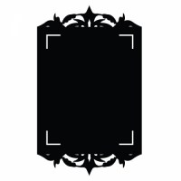 Reusable Chalkboard Frame Wall Decal Image 1