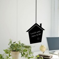 Reusable Chalkboard House Wall Decal Image 0