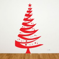Christmas Tree Wall Decal Image 0