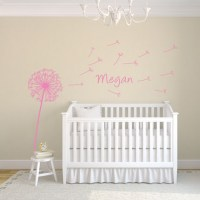 Dandelion Wall Decal Image 1