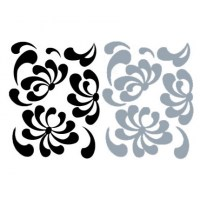 Floral Falls Wall Decal Image 2