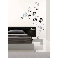 Floral Falls Wall Decal Image 0