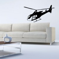 Helicopter Wall Decal Image 0