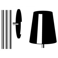 Floor Lamp Wall Decal Image 1