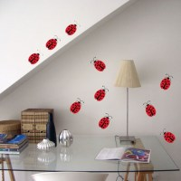 Ladybirds Wall Decal Image 1