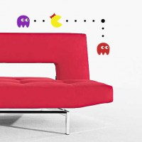 Ms Pacman, Blinky and Pinky Wall Decal Image 1
