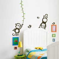Monkeys Wall Decal Image 0