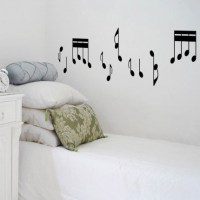 Musical Notes Wall Decal Image 0