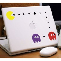 Pacman Laptop Sticker Image 0
