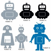 Robot Kit Wall Decal Image 3