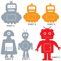 Robot Kit Wall Decal Image 2