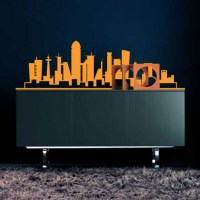 Urban Chic - Skyline Wall Decal Image 1