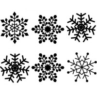 Snowflakes Wall decal Image 2