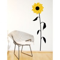 Sunflower Wall Decal Image 0
