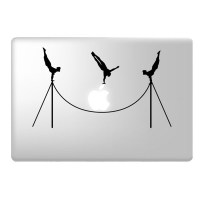 Acrobats laptop decal