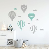 Air Balloons Wall Decal Image 0