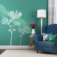 Anise Flowers Wall Decal