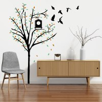 Autumn Tree Wall Decal Image 1