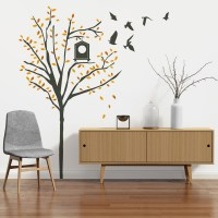 Autumn Tree Wall Decal Image 0