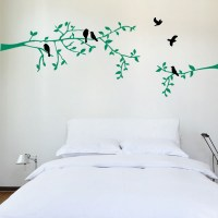 Branch with Birds Wall Decal Image 1