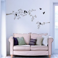 Branch with Birds Wall Decal Image 0