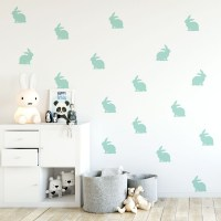 Mini Bunnies Wall Decal Image 0