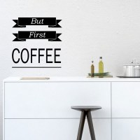 But First Coffee Wall Decal Image 1