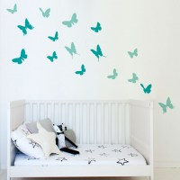 Butterflies Wall Decal Image 0