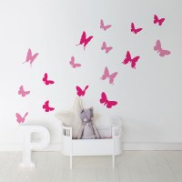 Butterflies Wall Decal Image 1