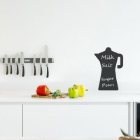 Reusable Chalkboard Moka Wall Decal Image 1