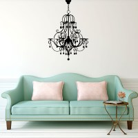 Chandelier Wall Decal Image 0