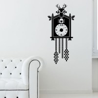 Cuckoo Clock Wall Decal Image 0