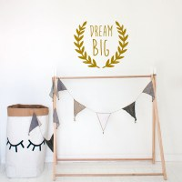 Dream Big Wall Decal Image 0