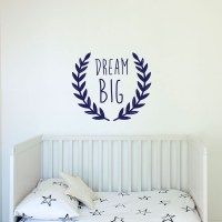 Dream Big Wall Decal Image 1