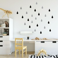 Drops Wall Decal