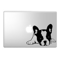 French Bulldog Laptop Decal Image 1